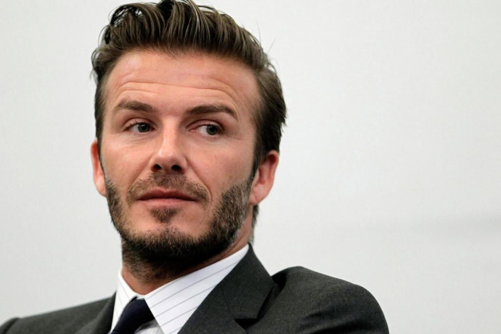 No 2: Coming in next with 42 per cent of the votes is former England Captain David Beckham.