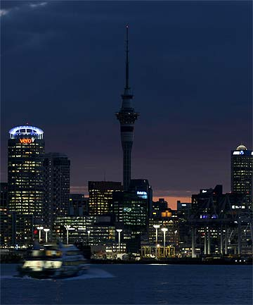 INSANE VIEWS: The Sky Tower in Auckland has ranked No 5 on Tripadvisor's list of iconic observation towers.