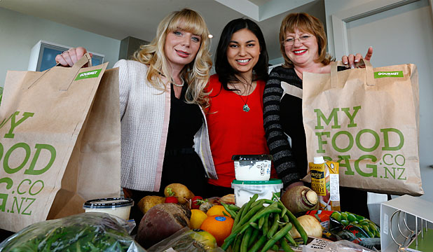 Food For Thought My Bag Founders Cecilia Robinson Masterchef S Nadia Lim And Theresa