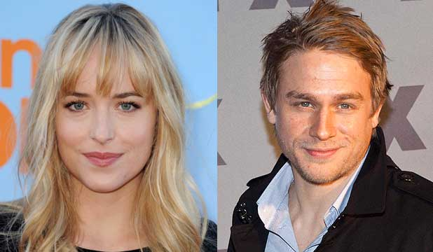 Dakota Johnson and Charlie Hunnam