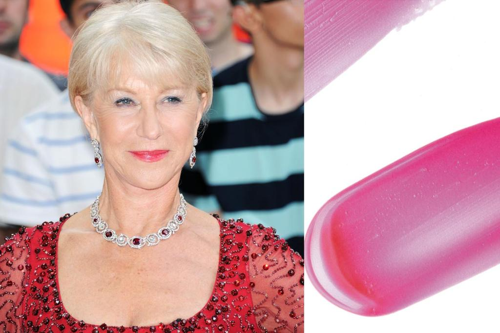 As Helen Mirren shows, there's no need to shun bright colours in your 60s and beyond. Try Revlon's Super Lustrous Lipgloss in Berry Allure, $24.50.