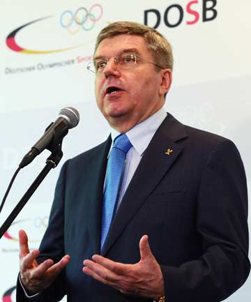 NEW MAN AT THE TOP: German Thomas Bach has replaced Jacques Rogge as president of the IOC.