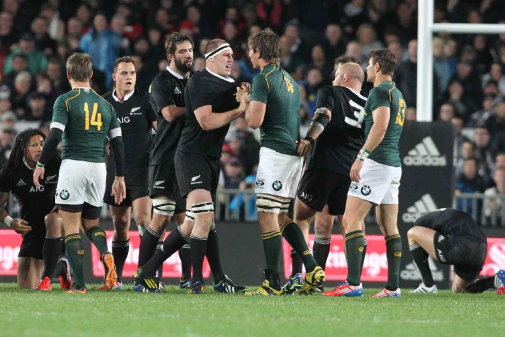 All Blacks and Springboks