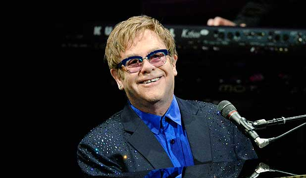 BIG FAN: Elton John has praised Kiwi singer Lorde at a recent concert.