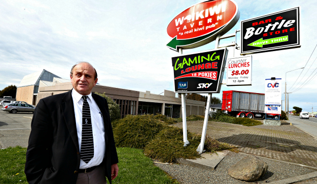 MOVE FOR PUB: Invercargill Licensing Trust President Alan Dennis on the site where the new Waikiwi Tavern will be built.