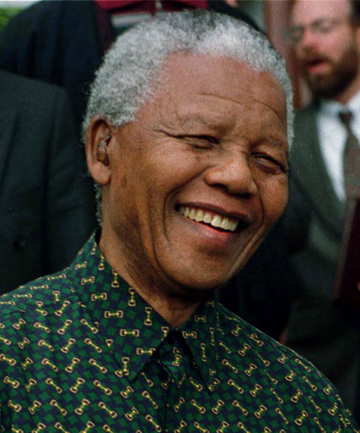 INSPIRATION: Former South African president Nelson Mandela is an inspiration to many.