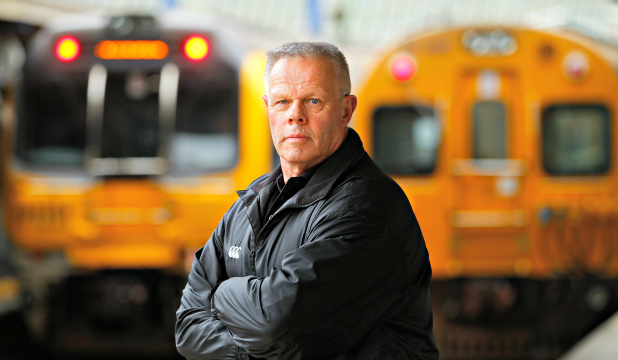 HEARING HASSLE: Malcolm Stone, 65, began working in the shunting yards in 1972 and needs hearing aids after developing tinnitus.
