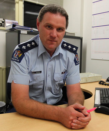Southland area commander Inspector Lane Todd.