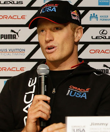 "JIMMY SPITHILL: ""You want Russell Coutts in your team ... he's the most successful skipper in the game."""