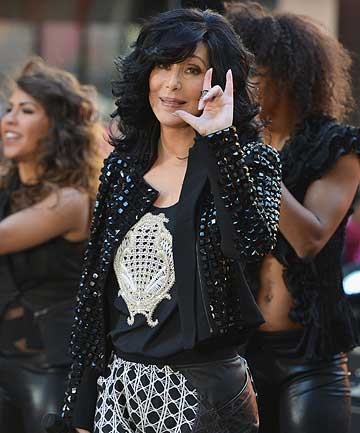 NO TURNING BACK TIME: But still looking good: Cher