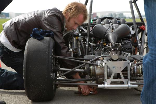 Canterbury University students build car from scratch