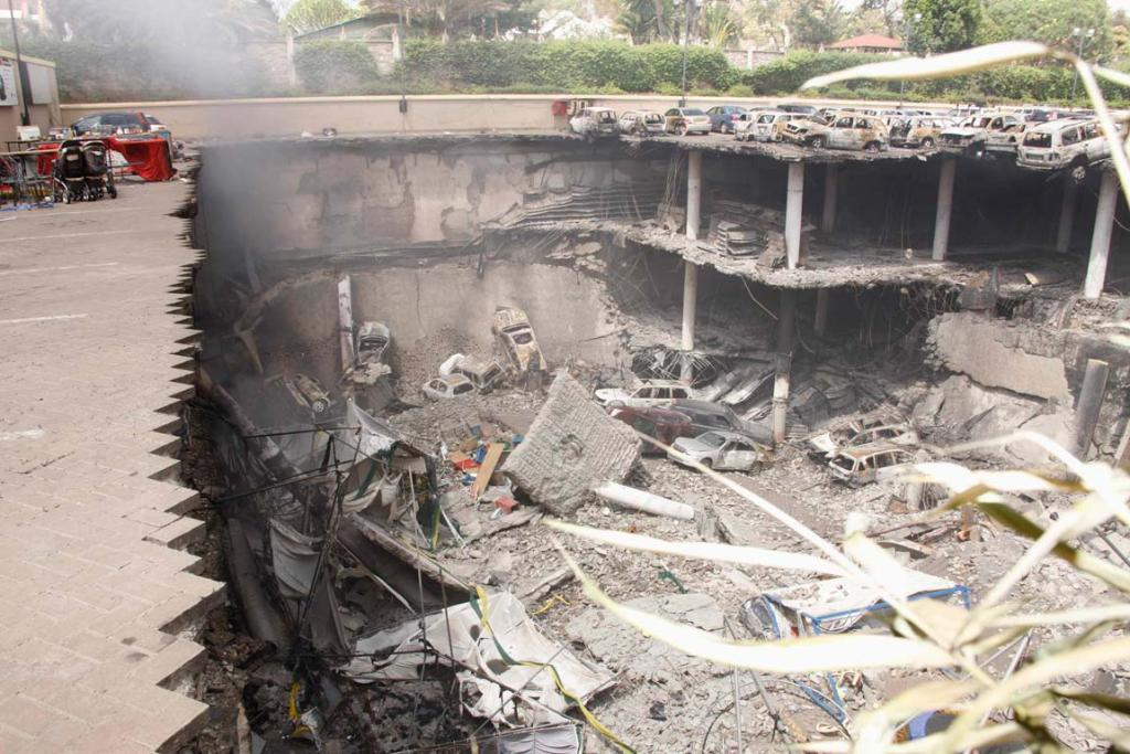 Nairobi mall destruction