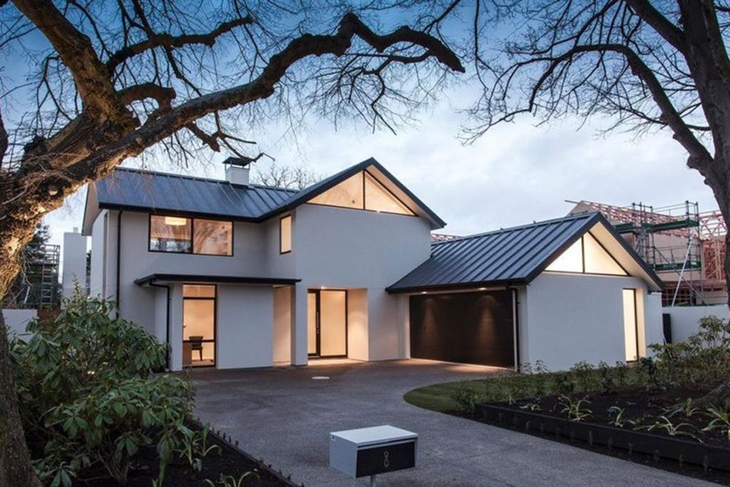 MERIVALE, CHRISTCHURCH: This generously sized home is perfect for a family craving contemporary and minimalist living.