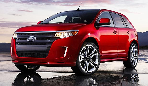 Ford Edge Before Long We Could See It With A Territory Badge On It