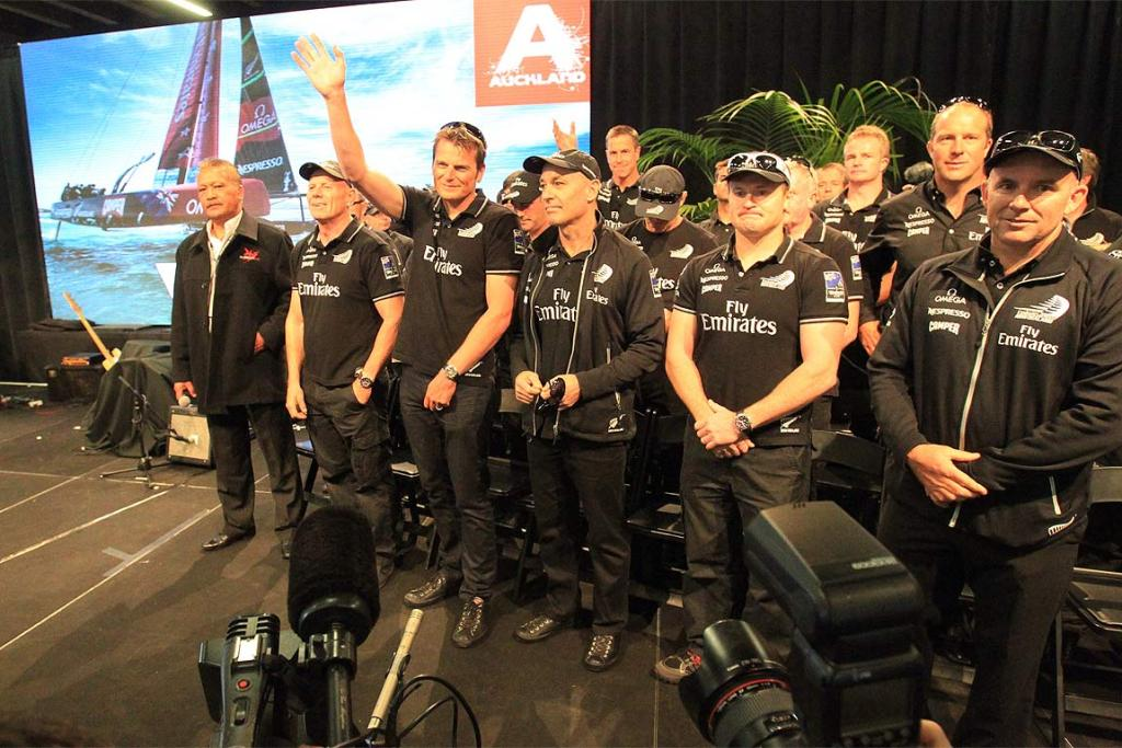 Team NZ welcomed home