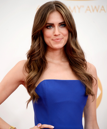 CRAZILY SIMILAR: The avatar is eerily similar to Girls star Allison Williams - girl just needs to pump some iron and they could be twins.
