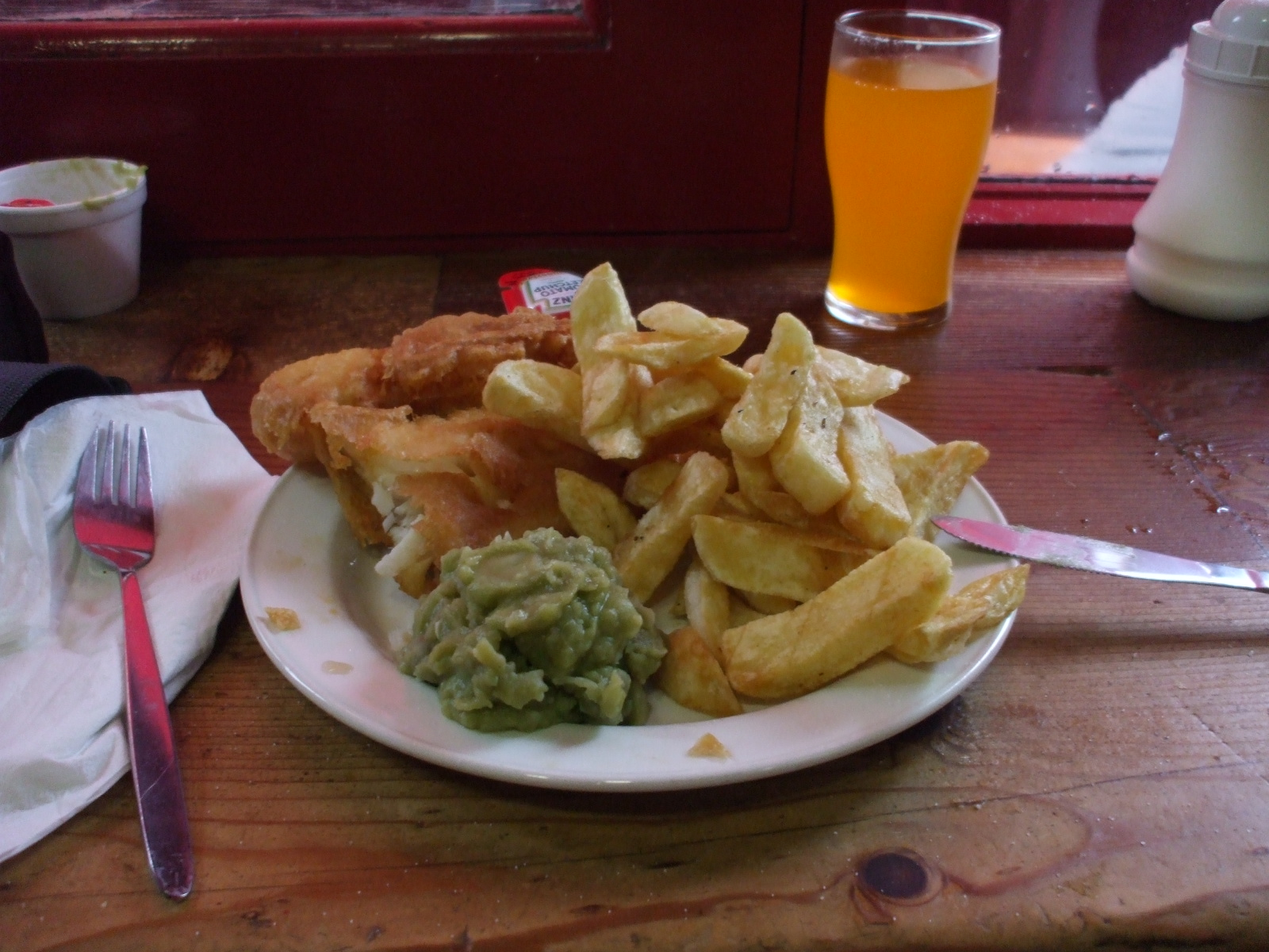 Now that's fish'n'chips.
