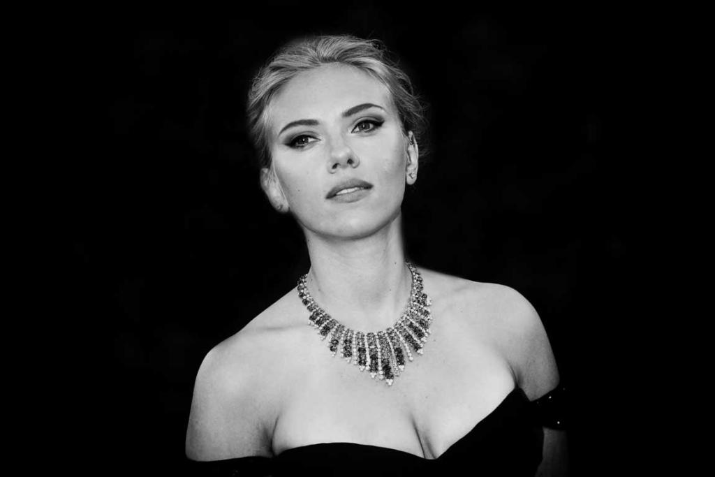Scarlett Johansson at the Venice International Film Festival.