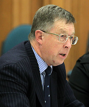 SET TO BE AXED: Executive team member Peter Mitchell, former regulatory and democracy services general manager.
