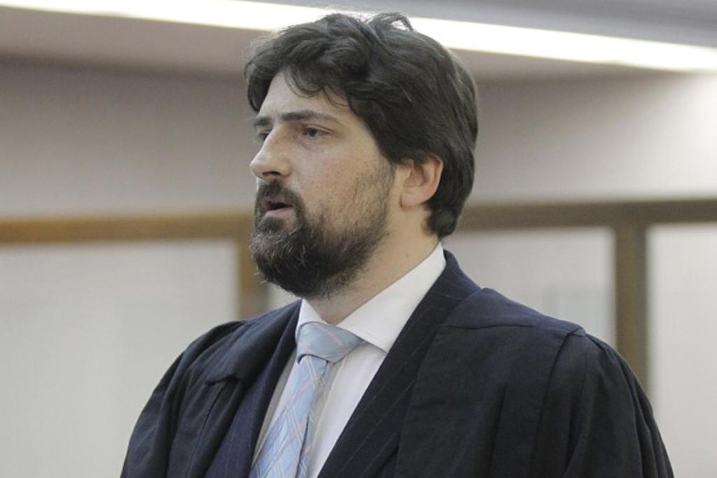 Lawyer Felix Geiringer appeared for Mark Lundy at the bail hearing. Lundy did not attend, nor did he watch proceedings via a videolink from prison.