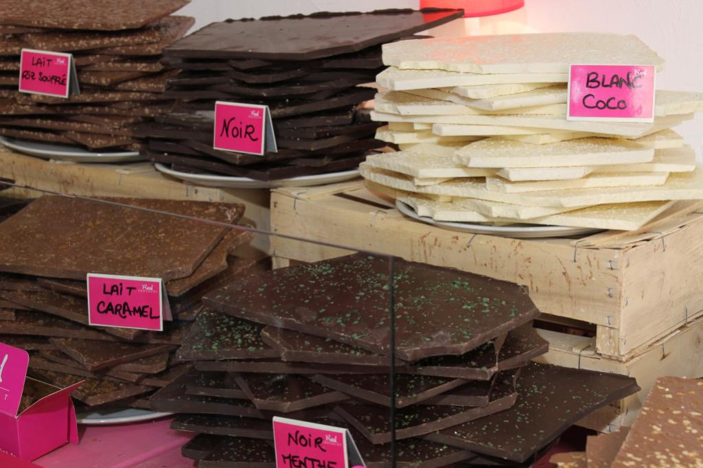 This Chocolate Shop in Aix en Provence had a sweet smell that drew us in the door. So many choices, nougat covered in chocolate went home with us.