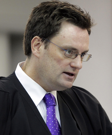 Defence lawyer Greg King