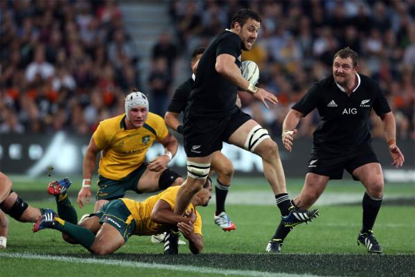 All Blacks v Wallabies in Dunedin
