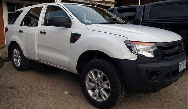 New Ford Everest Suv Caught Testing Stuff Co Nz