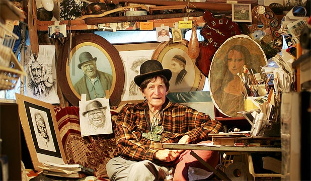 GOLDIE: New Zealand's most infamous painting forger, died after a short battle with illness.