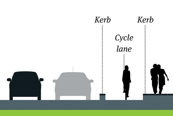 christchurch cycle lane options