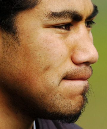 MA'A NONU: Another man not scared of eyeliner.