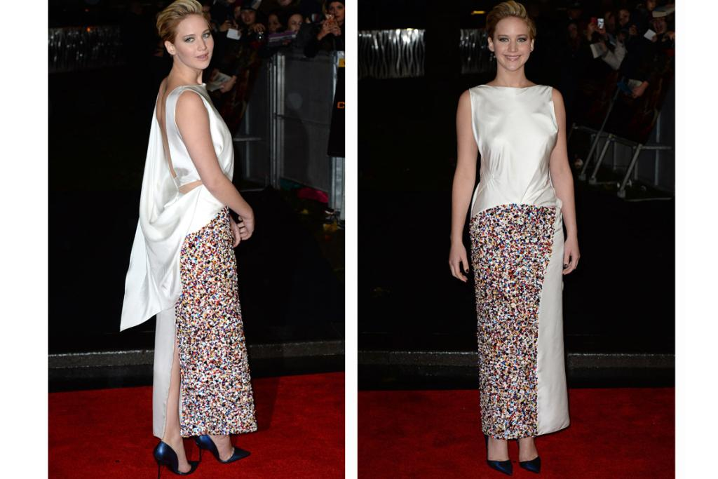 Fashion at Hunger Games premiere