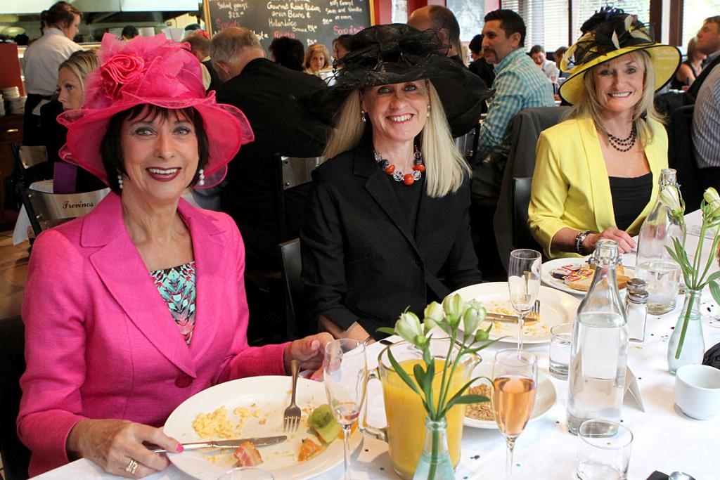 Trevinos Cup Day breakfast