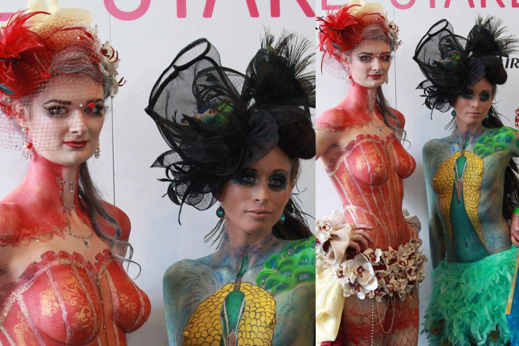Cup Day fashion and body art