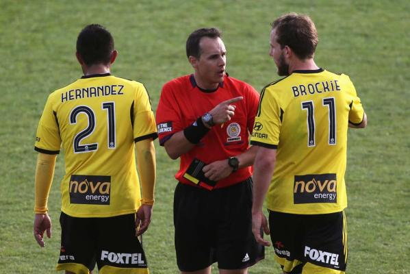 Carlos Hernandez and Jeremy Brockie