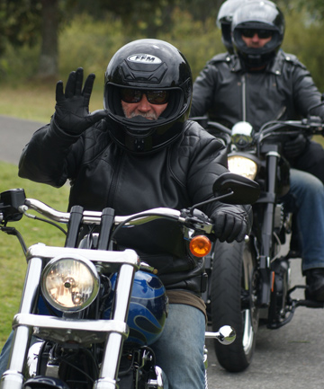 EASY RIDERS: Motorcyclists will throng through the nor-west in the annual five station poker run hosted this year by Shelly Beach rural fire station.