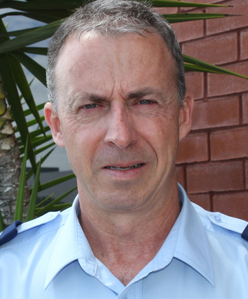 Senior Sergeant Andy King
