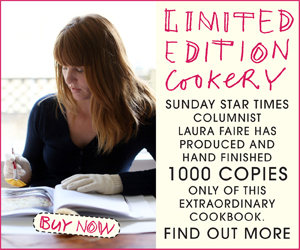 Laura Faire Cookbook Promotion
