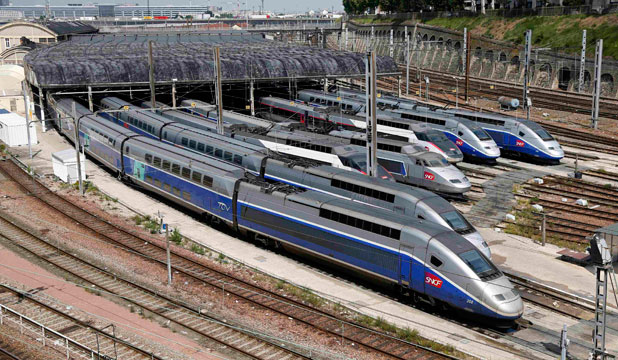 TRAIN TRAVEL: More than 80 per cent of the most popular high-speed rail journeys in Europe must now be reserved in advance.