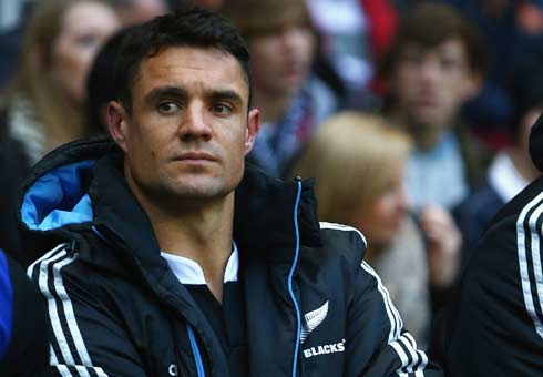 Dan Carter will undergo a scan on his Achilles to find out the extent of any damage.