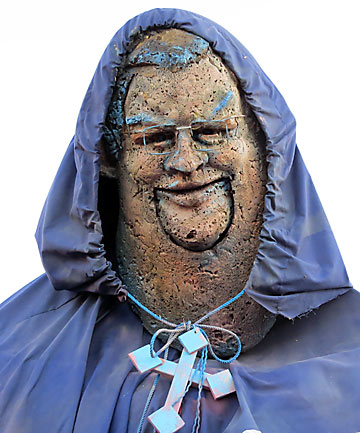 Gerry Brownlee puppet