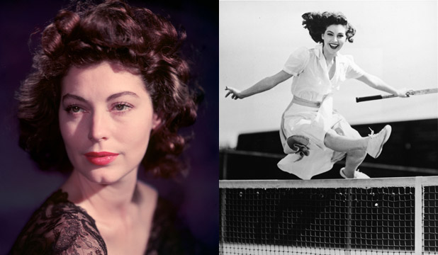 "DIFFERENT INTERPRETATIONS: Shanks used actress Ava Gardner as an example of a woman with a ""nearly perfect"" face. Whitaker jumped in and said she was asymmetrical."