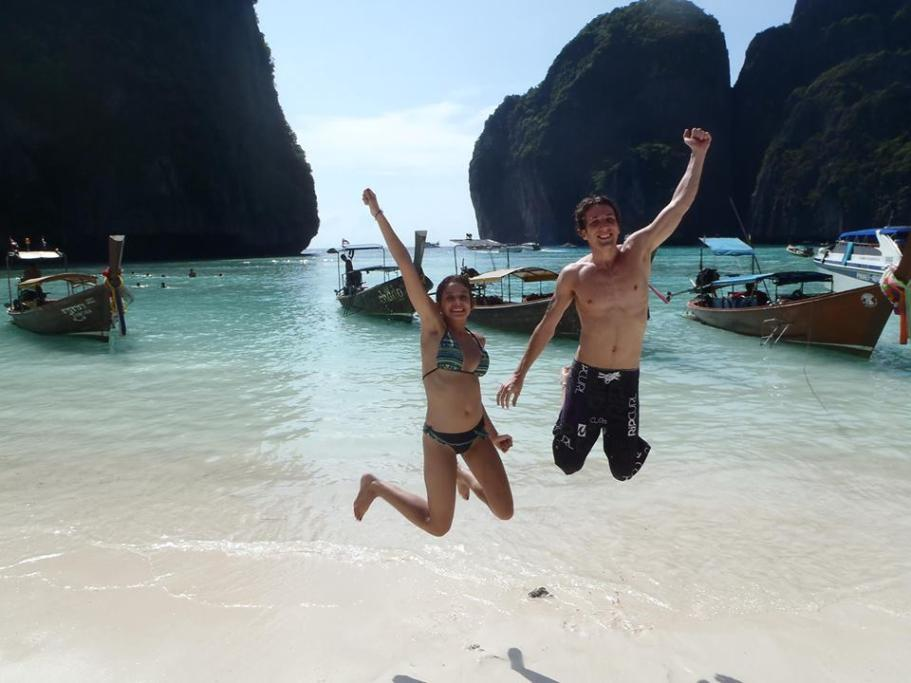 "Maya bay aka ""The Beach"""