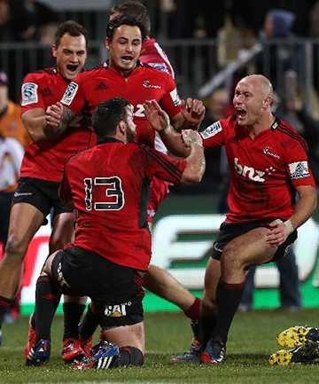 INTERNATIONAL FEEL: The Crusaders are lining up a clash with England next year.