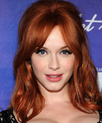 ROCKING REDHEAD: 'If Christina Hendricks had come along a little earlier, she would have been a huge asset.'