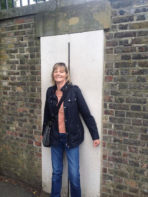 Annette McQueen on the Greenwich Mean Time Line