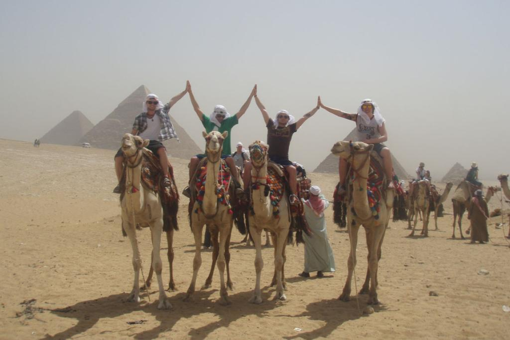 We thought this was original back in 2009 but after seeing a lot of friends' photos from Egypt we have realised everyone has something similar!