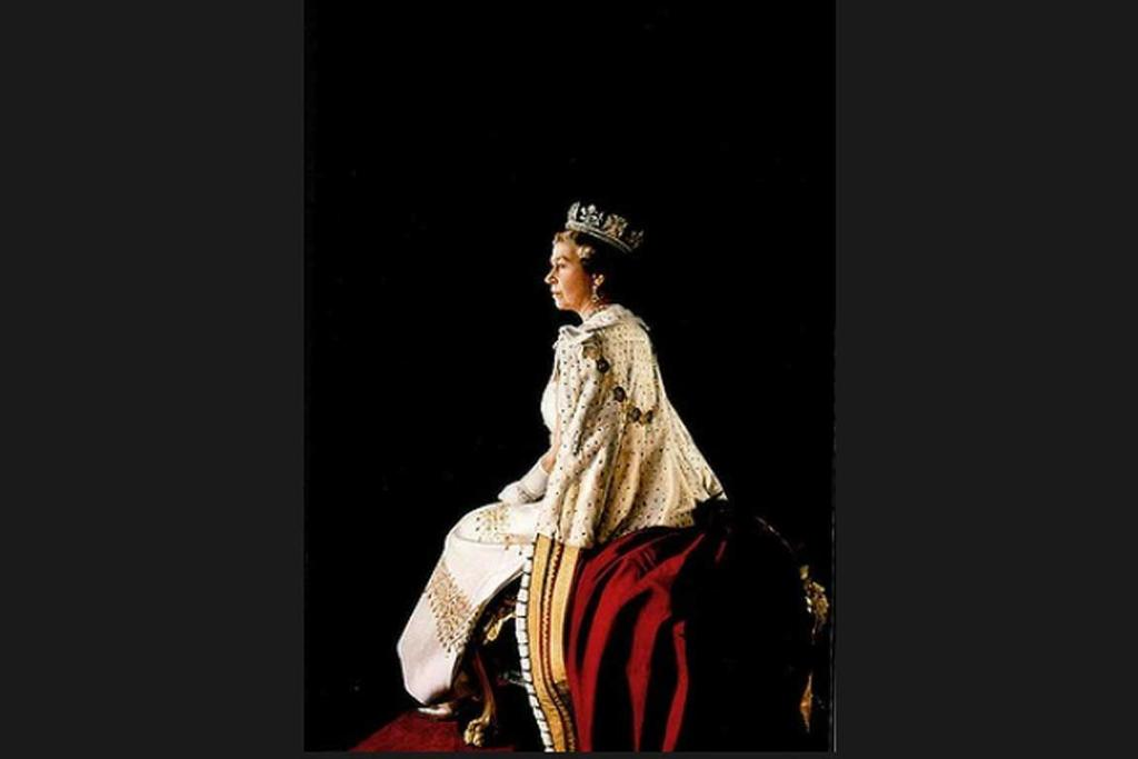 Portrait of Her Majesty Queen Elizabeth II