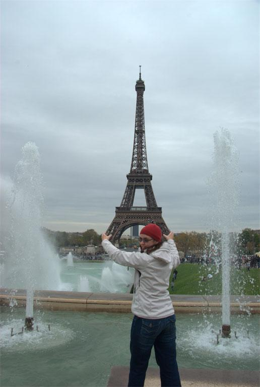 The Eiffel and me.