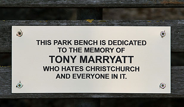 CONTROVERSIAL: A second plaque has been dedicated to Tony Marryatt.